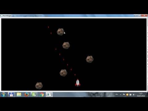 Qt - Покадровая анимация 2D-графики (Столкновения элементов)