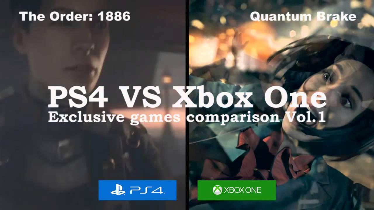 Ps4site Ps4 Vs Xbox One Exclusive Games Comparison