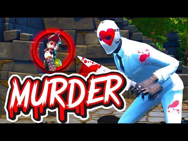 *NEU* RÄUBER vs UNSCHULDIGE in FORTNITE Murder Modus