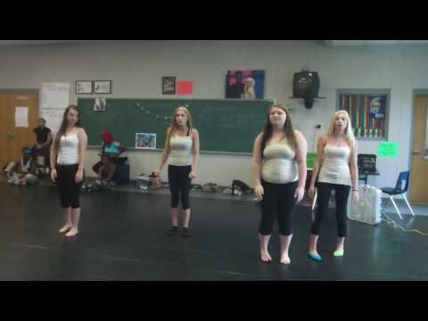 Beginning Dance Choreography Project Exam, June 7, 2016