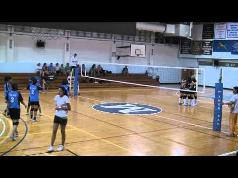 Volleyball 2011 -- Morrison Academy vs. Chung Shan Medical University (Game 7)