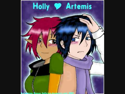 artemis fowl and holly relationship