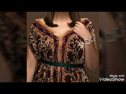 237a4712920b2 كوني اول من يرى قنادر كتان صيف دار واعراس - أناقة وأزياء Moufida fashion -  imclips.net