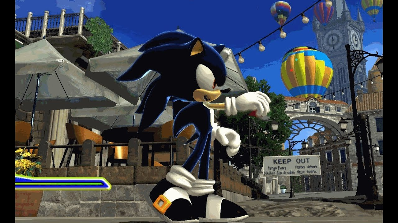 sonic world dark sonic mod download