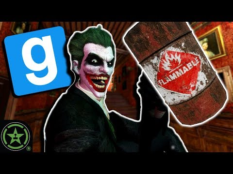 Wanna See A Barrel Trick? - GMod: TTT Batman Edition | Live Gameplay