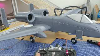 3D프린팅 RC 비행기 제어 (RC airplane w…