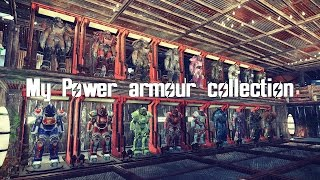 Fallout 4 - My power armour collection