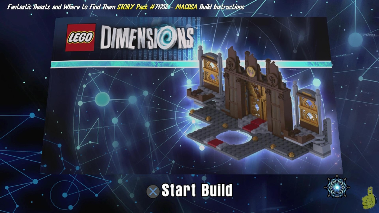 Lego Dimensions Build Instructions Fantastic Beast