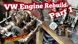 How to Rebuild a VẄ Air-Cooled Engine