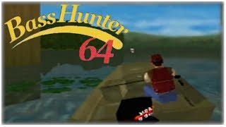 In-Fisherman Bass Hunter 64 Nintendo 64 Gameplay Walkthrough Part 2 - Tournament 2!