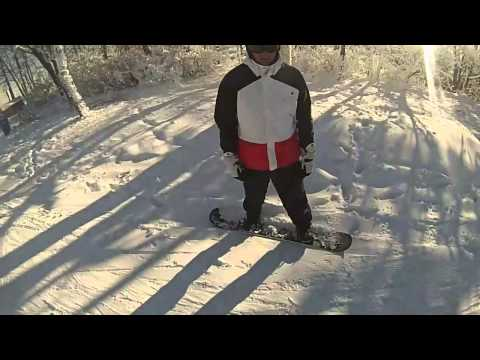 Ski Liberty - Liberty Mountain Resort - Fresh Tracks - Snowboarding 2014 GoPro HD