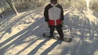 Ski Liberty - Liberty Mountain Resort - Fresh Tracks - Snowboarding 2014 GoPro HD