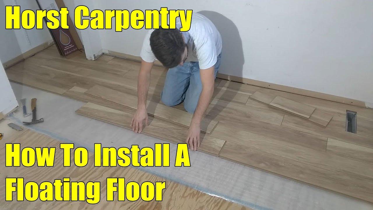 Installing a Floating Floor | Part 1