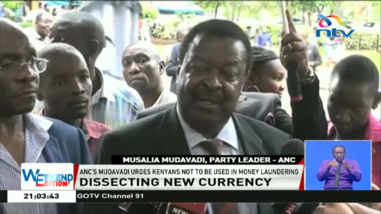 Musalia Mudavadi message Kenyans on KSh 1,000 notes deadline