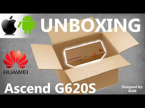 Unboxing Huawei Ascend G620s