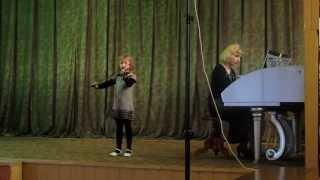 """Калинников """"Журавель"""".1-й клас скрипка"""