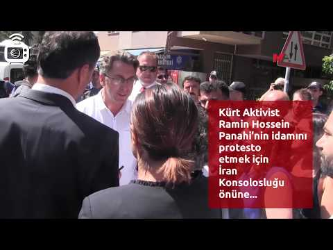 Panahi'nin idamını protesto etmek...