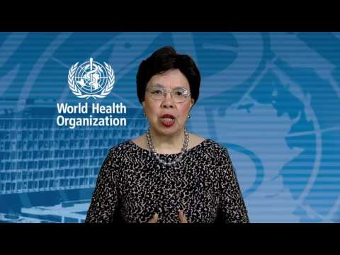 Dr Margaret Chan, WHO Director General, message to the UN Environment Assembly