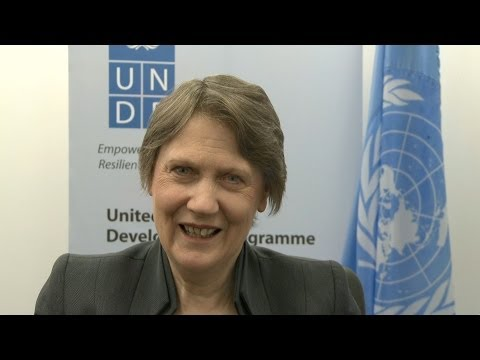 """Video speech - Helen Clark, Administrator of the United Nations Development Programme (UNDP) on World NGO Day""."