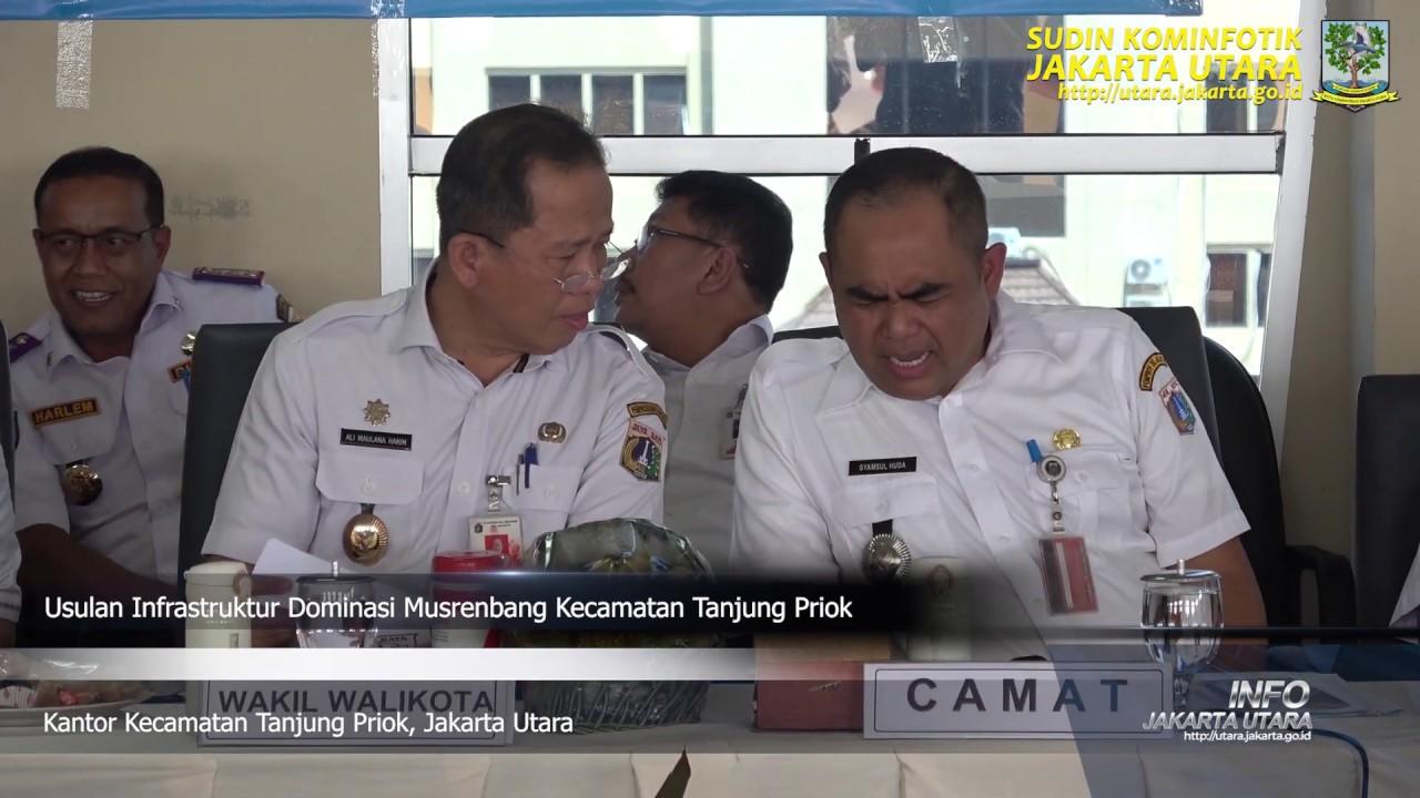 Usulan Infrastruktur Dominasi Musrenbang Kecamatan Tanjung Priok Rabu 12 2 Youtube