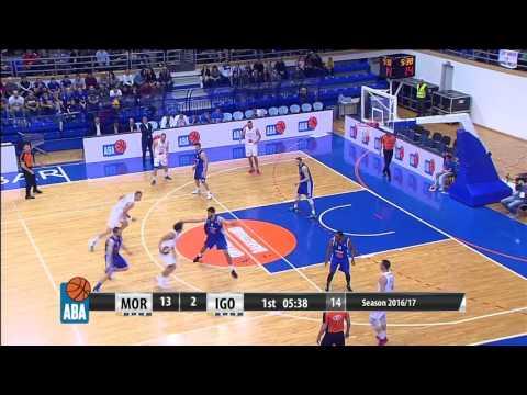 ABA Liga 2016/17, Round 25 match: Mornar - Igokea (4.3.2017)