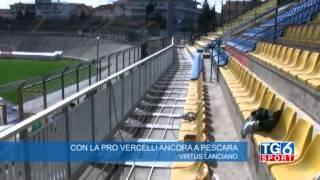 Con la Pro Vercelli ancora a Pescara