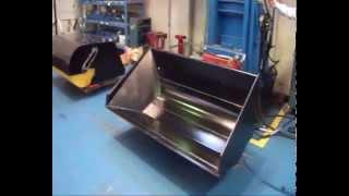 Video Side dump bucket Euro Implementos