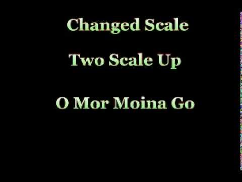 Karaoke Track Scale Change