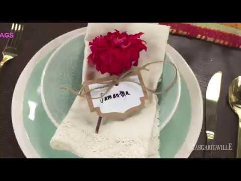 DIY: Fiesta Themed Napkin Name Tags