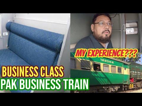 PAK BUSINESS TRAIN| Karachi To Lahore| AC Business Class|travel Vlog