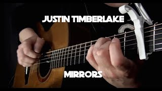 Kelly Valleau - Mirrors (Justin Timberlake) - Fingerstyle Guitar