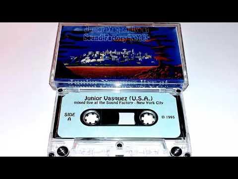 Junior Vasquez - Live at Sound Factory NYC - 1995