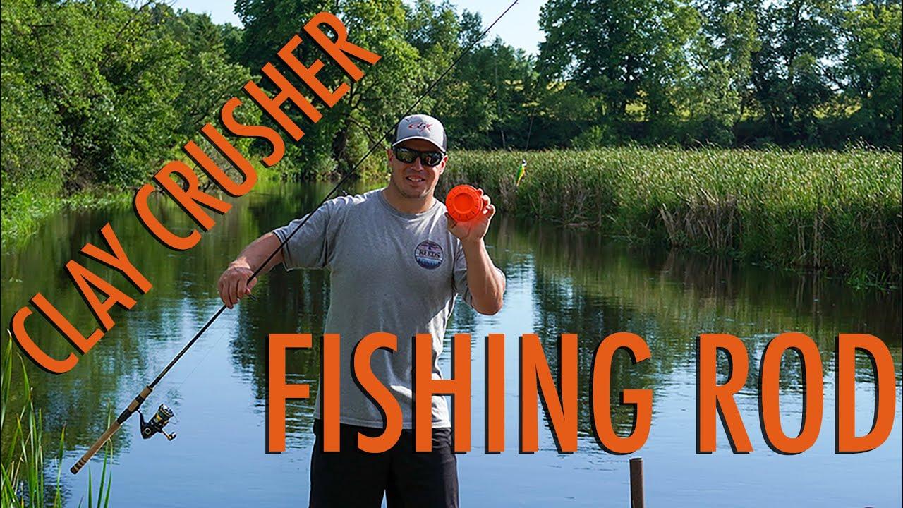 #crushaclaychallenge With a Fishing Rod | Aaron Gould