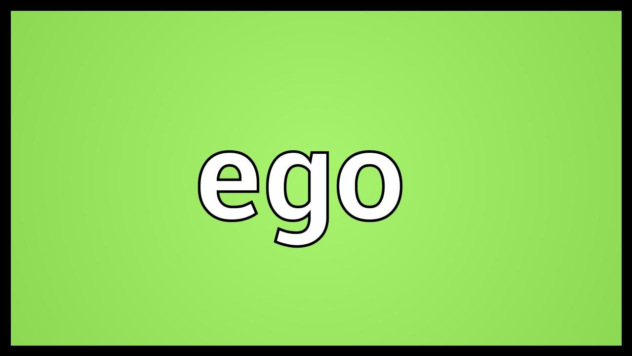 another word for big ego
