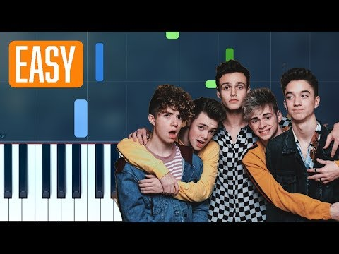 Why Don't We -  8 Letters  100% EASY PIANO TUTORIAL