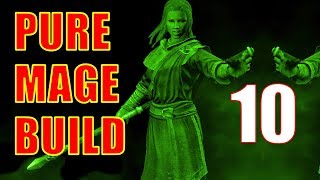 Skyrim Pure Mage Walkthrough NO WEAPONS NO ARMOR Part 10 - Stagger Lock and Atronachs