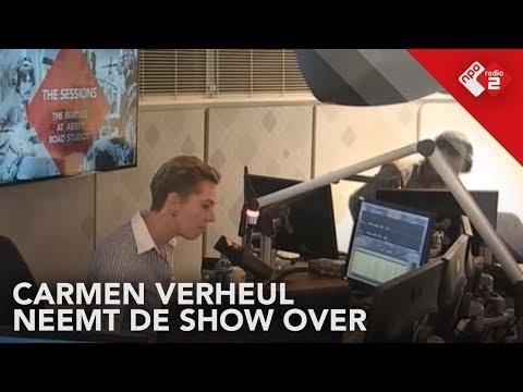 Nieuwslezeres Carmen Verheul neemt de show over | NPO Radio 2 Extra