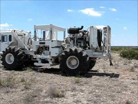 Vibroseis Trucks For Geophysical Prospectin