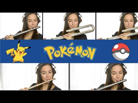 Pokemon Theme Song - Flute Cover