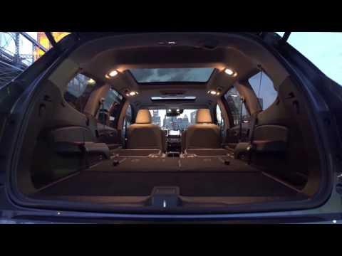 2017 Honda Pilot Elite AWD Interior Design | AutoMotoTV