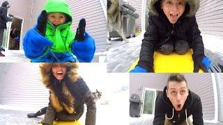 CRAZY ICE CHALLENGE!!