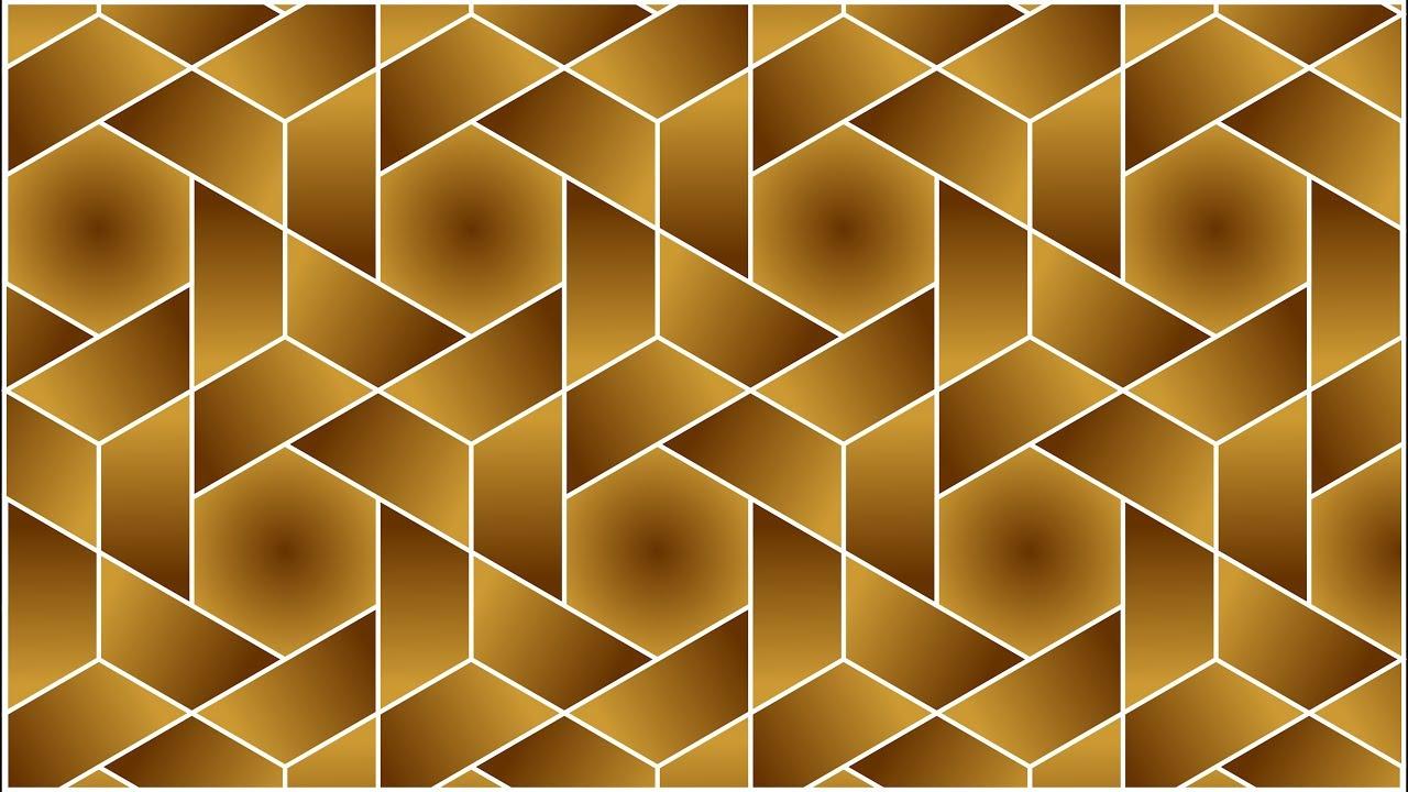 Design patterns | Geometric patterns | Corel DRAW tutorials | 012