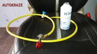 HOW TO REFILL AC GAS|CAR AC GAS REFILL|DIY GAS REFILL|AUTOKRAZE