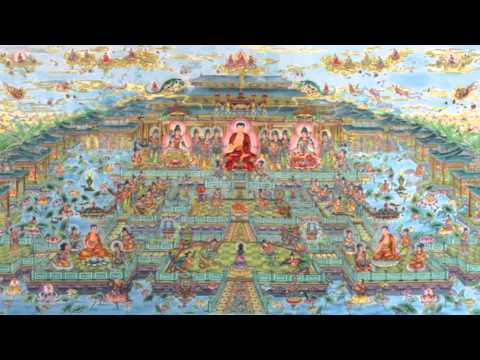 Buddhist Music 四字五音佛號 有音樂 Verse for  Namo Amitabha