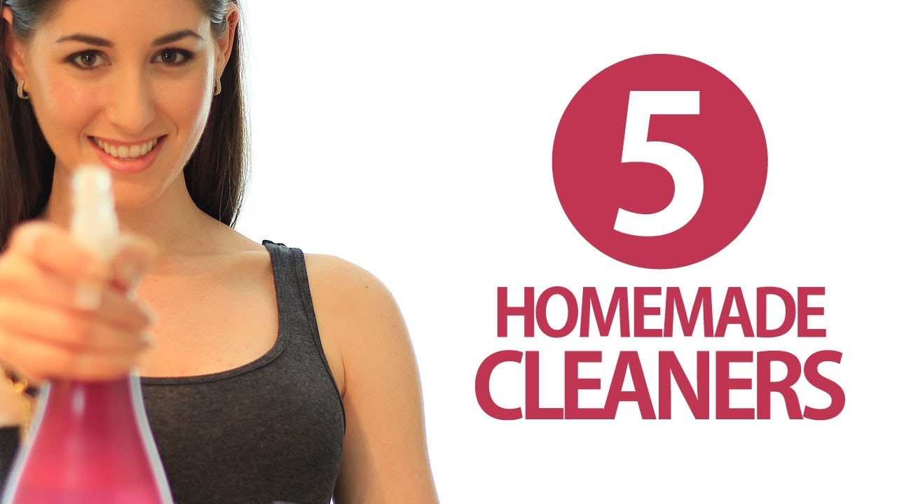 5 Homemade Cleaners! DIY Cleaning Products! Easy Ways to ...