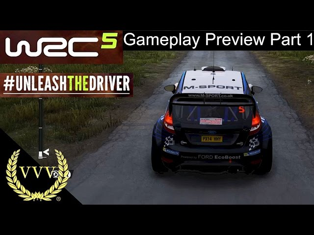 WRC 5 Gameplay Preview Part 1