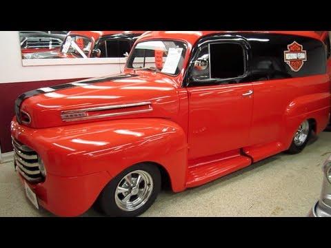 1950 ford harley davidson truck youtube. Black Bedroom Furniture Sets. Home Design Ideas