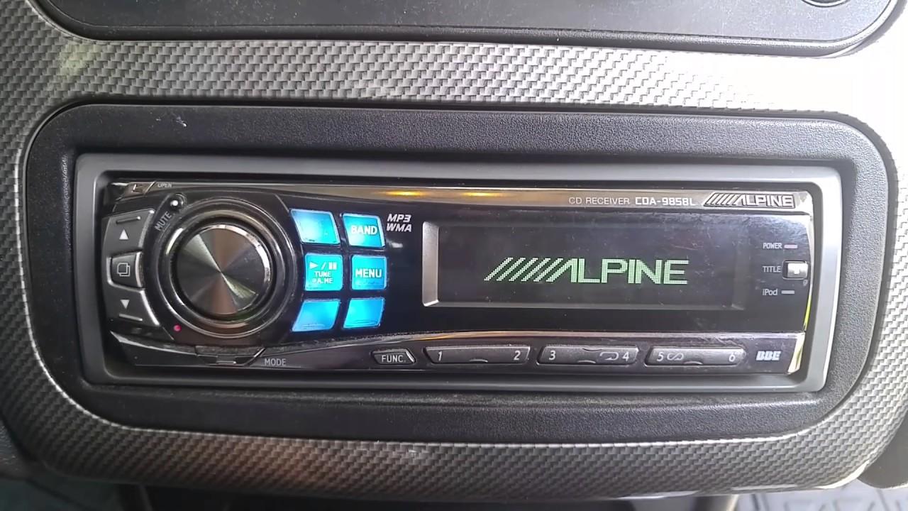 Funky Alpine Cda 9827 Wiring Diagram Illustration - The Wire ...