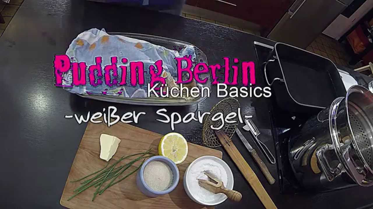 k chen basics wei er spargel richtig spargel kochen wie kocht man spargel youtube. Black Bedroom Furniture Sets. Home Design Ideas