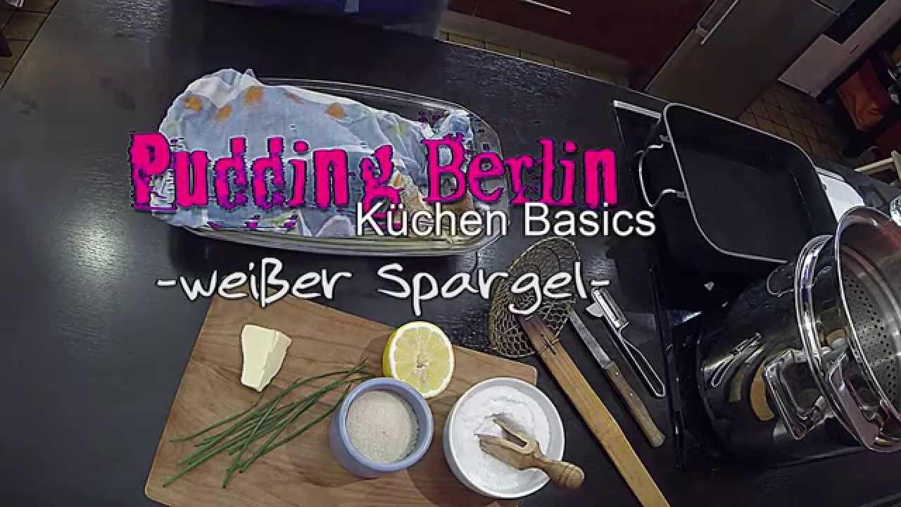K chen basics wei er spargel richtig spargel kochen wie kocht man spargel youtube - Richtig spargel kochen ...